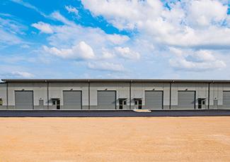 Exterior photo of the San Antonio project