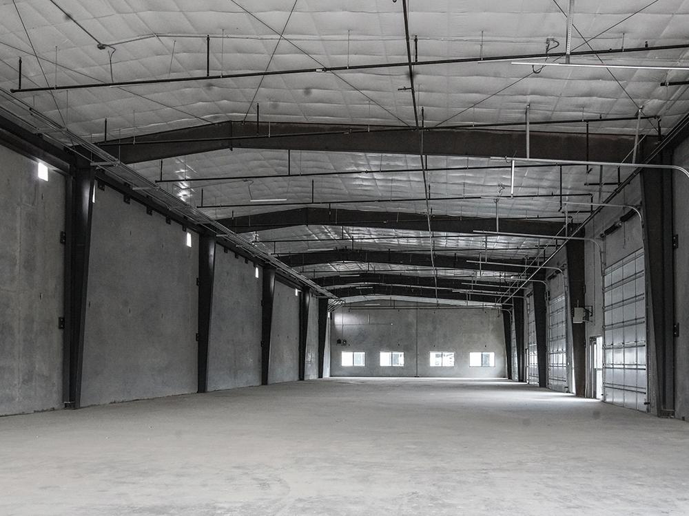 Interior of Shell Warehouse
